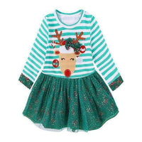 Kids - CHRISTMAS TODDLER DRESS REINDEER