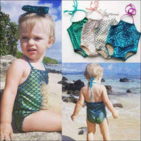 Kids - Mermaid Bikini One Piece