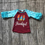 Kids - THANKSGIVING THANKFUL TODDLER TOP