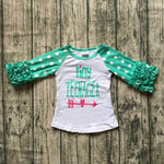 Kids - Tiny Teenager Ruffle Top