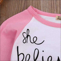 Kids - TODDLER TOP SHE BELIEVED