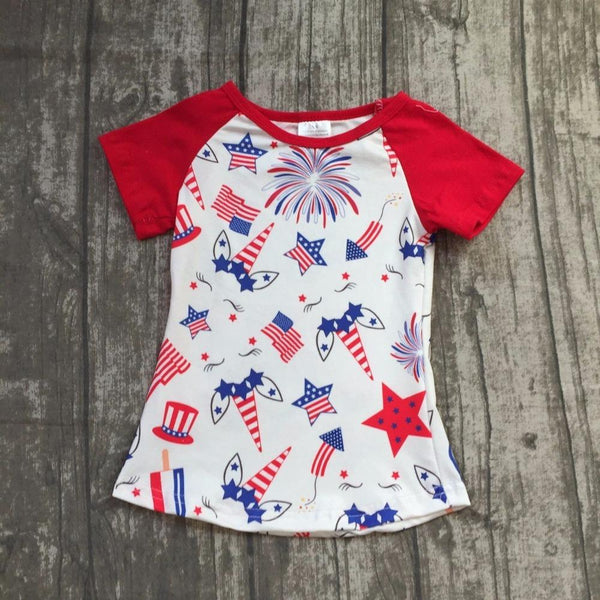 Kids - Unicorn Fourth Of July