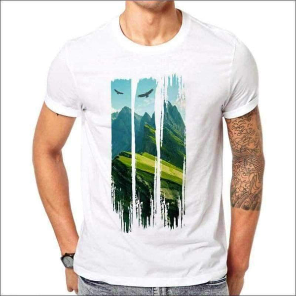 Mens - LAND SHIRT MEN LANDSCAPE