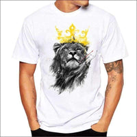 Mens - LION SHIRT MENS KING