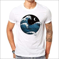 Mens - MEN'S WAVE SHIRT OCEAN
