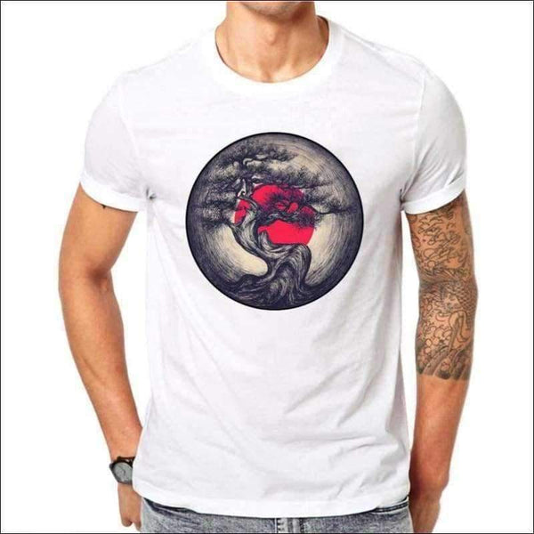 Mens - Mens Sunset Shirt - White