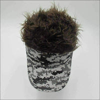 Mens - Novelty Cap Fake Toupee