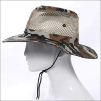 Outdoors - FISHING HAT CAMO PRINT