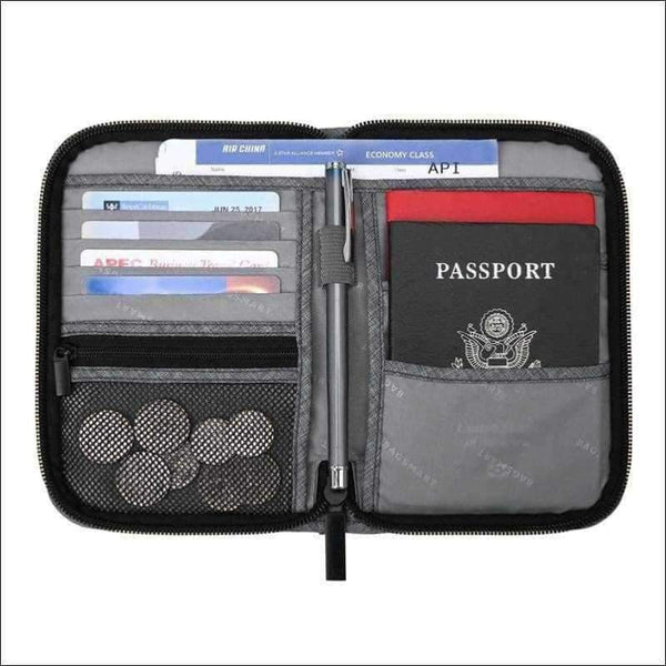 Outdoors - TRAVEL PASSPORT BAG CASE