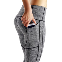 ShapeWear - Women Grey Elastic Yoga