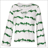 Womens - CASUAL LADIES BLOUSE FUNKY