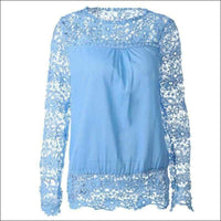 Womens - LACE TOP LONG SLEEVE
