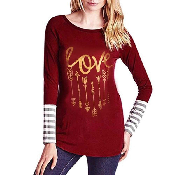 Womens - LOVE ARROWS LONG SLEEVE