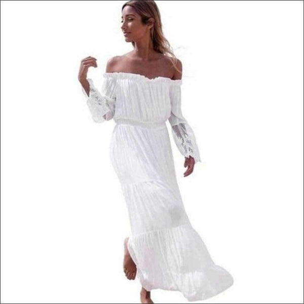 Womens - STRAPLESS BEACH DRESS