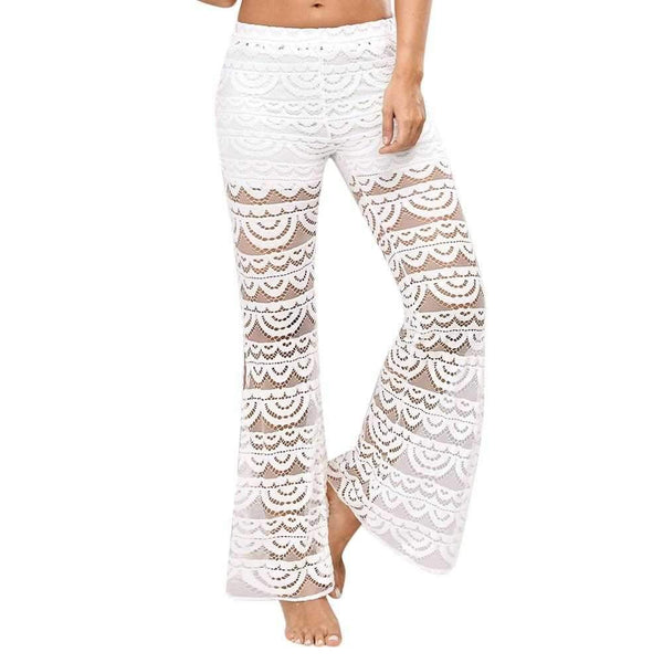 Womens - Women Lace Bell Bottoms