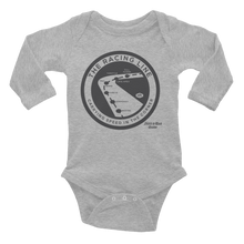 "Load image into Gallery viewer, ""The Racing Line"" Infant Long Sleeve Bodysuit"