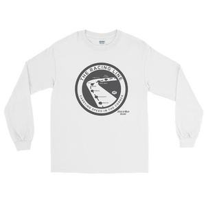 """The Racing Line"" Ultra Cotton Long Sleeve T-Shirt"