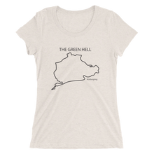 "Load image into Gallery viewer, ""The Green Hell"" Ladies' short sleeve t-shirt"