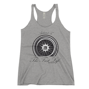 """Addicted to the Fast Life"" Women's Racerback Tank"