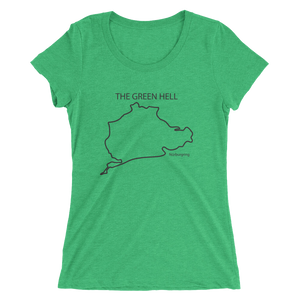 """The Green Hell"" Ladies' short sleeve t-shirt"