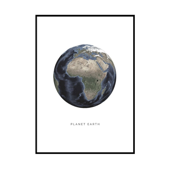 PLANET EARTH - PLAKAT 50X70 CM.