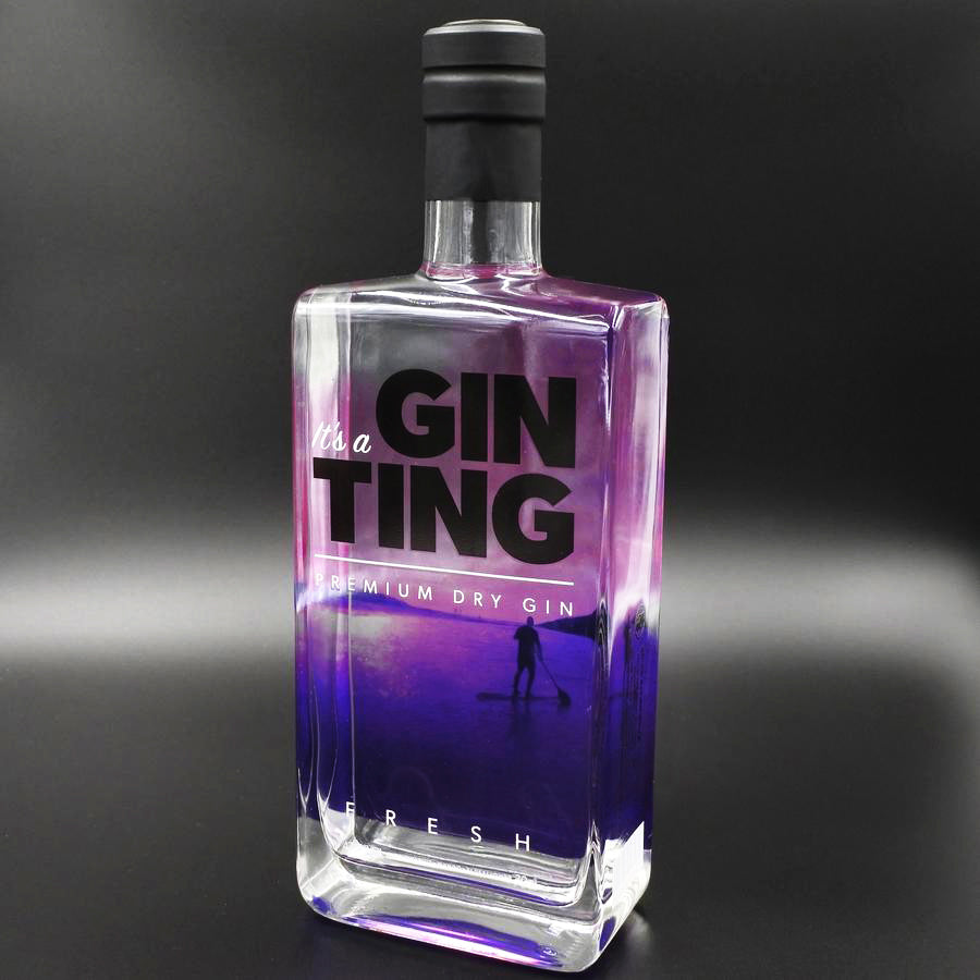 GinTing Premium Dry Gin 70cl