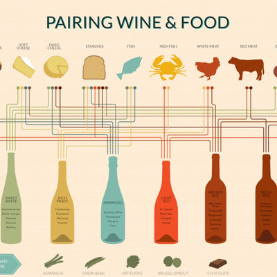 An Essential Guide to the basics of Food and Wine Pairing