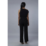 Lizzo Black Off Shoulder Jumpsuit Black View