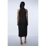 Valerie Versatile Black Dress Back View