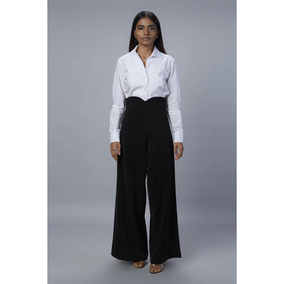 Tulip Black Pant Front View