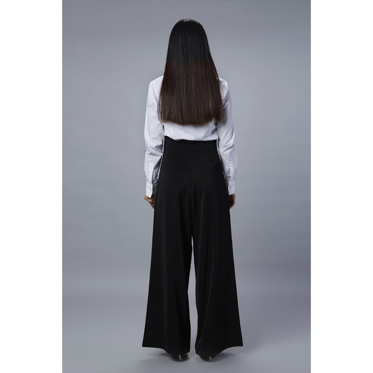 Tulip Black Pant Back View
