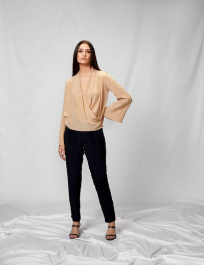 Formal Crepe Silk Pant