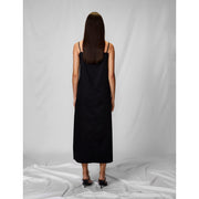 Skinny Black Shift Dress