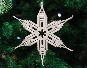 Templeflakes Lds Temple Based Christmas Ornaments