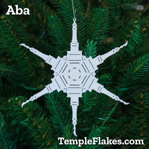 Aba Nigeria Temple Christmas Ornament