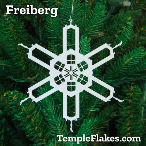 Freiberg Germany Christmas Ornament