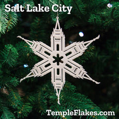 Salt Lake City TempleFlake
