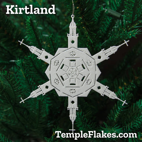Kirtland Temple Christmas Ornament