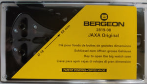 Bergeon Jaxa Original to Open and Close Watch Case Backs from 18mm to 62mm