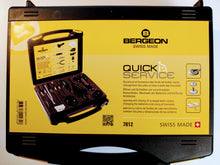 Load image into Gallery viewer, Bergeon 7812 Watch Quick Service Tool Kit, 18 Piece Kit
