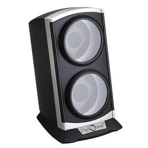 Diplomat Double Watch Winder Choose from four styles. AC adapter included. Has Smart Internal Bi-Directional Timer Control