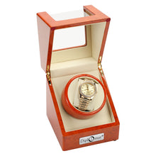 Load image into Gallery viewer, Diplomat Estate Single Watch Winder AC/Battery - Avail in Burl, Ebony or Cherry