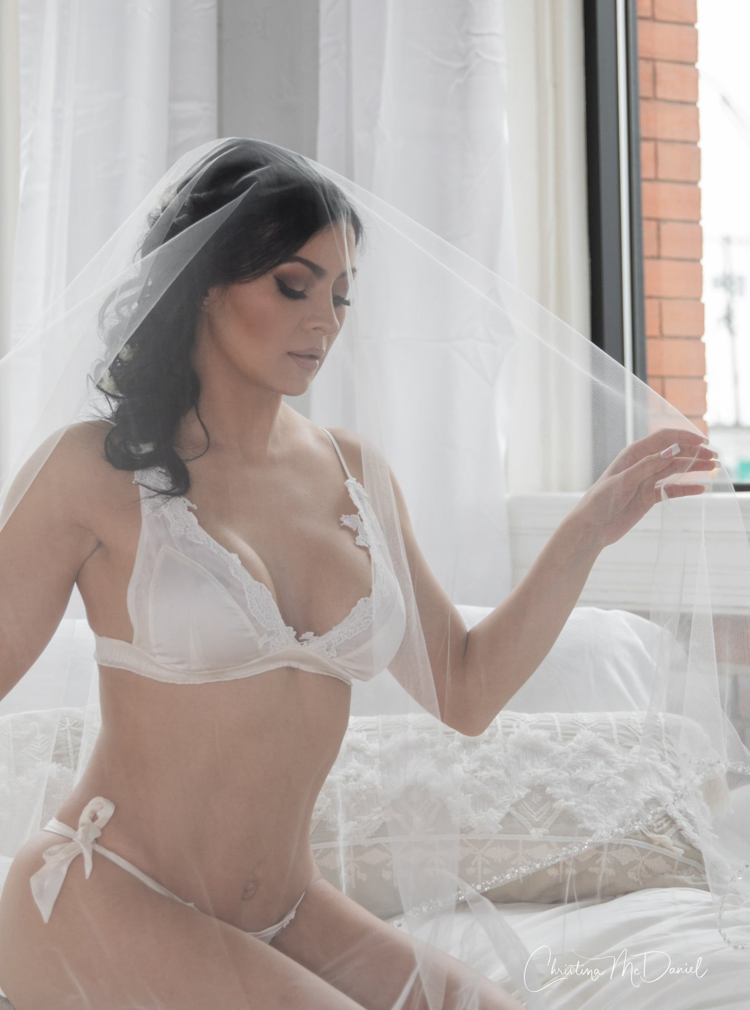 Wedding night lingerie set