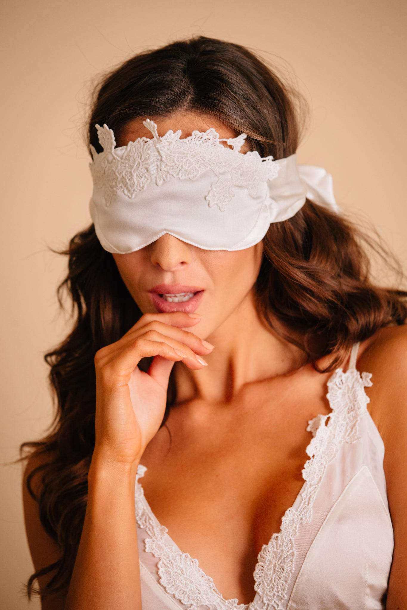 silk eye sleeping mask for bride to be