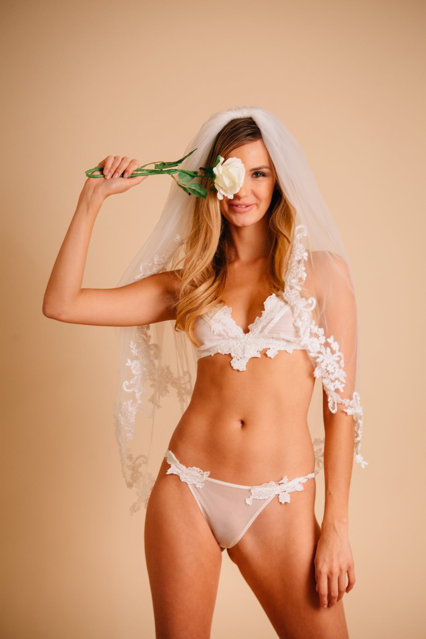 sexy white bridal lingerie for wedding