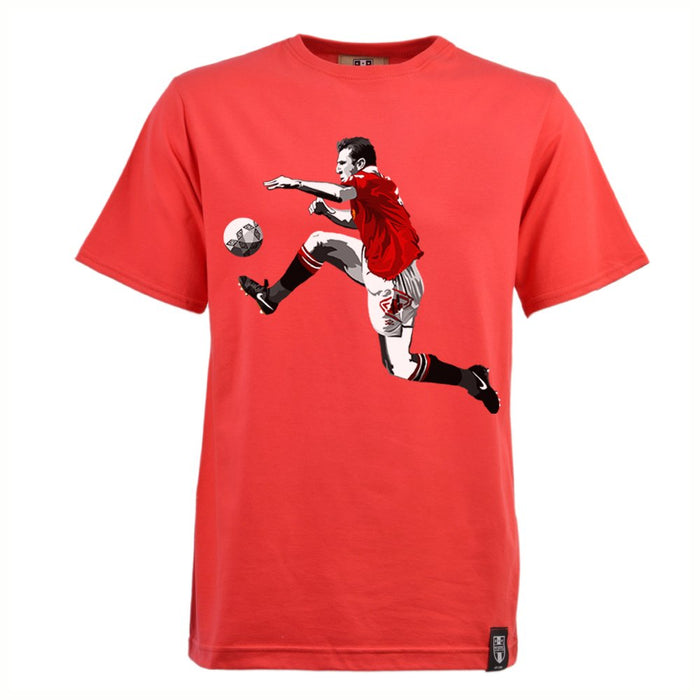 Miniboro - Cantona T-shirt- Red