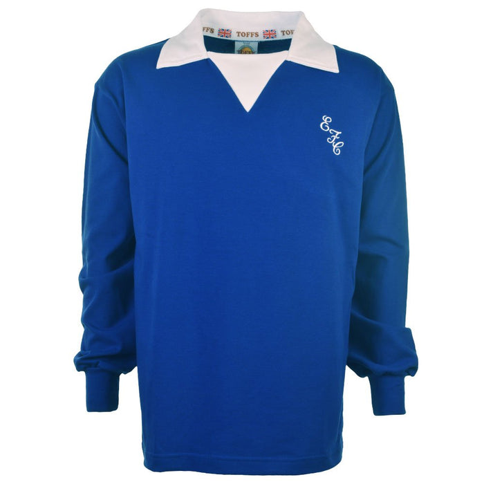 Everton 1970s Retro Football Shirt