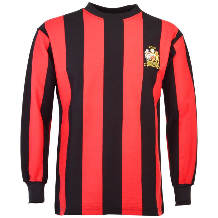 Manchester City 1969 Fa Cup Final Retro Football Shirt