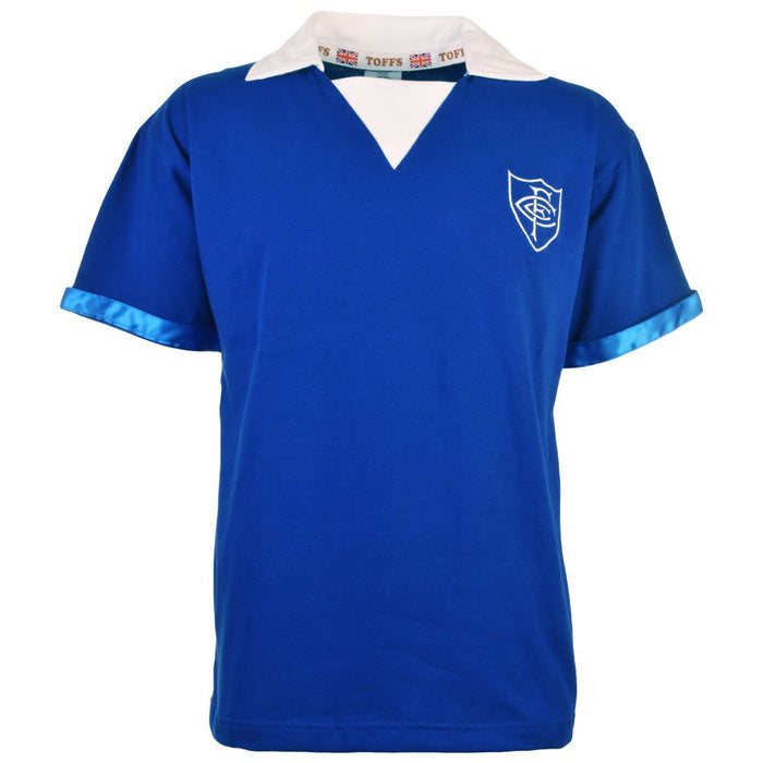 Chelsea Fc S/Sleeve Retro Football Shirt