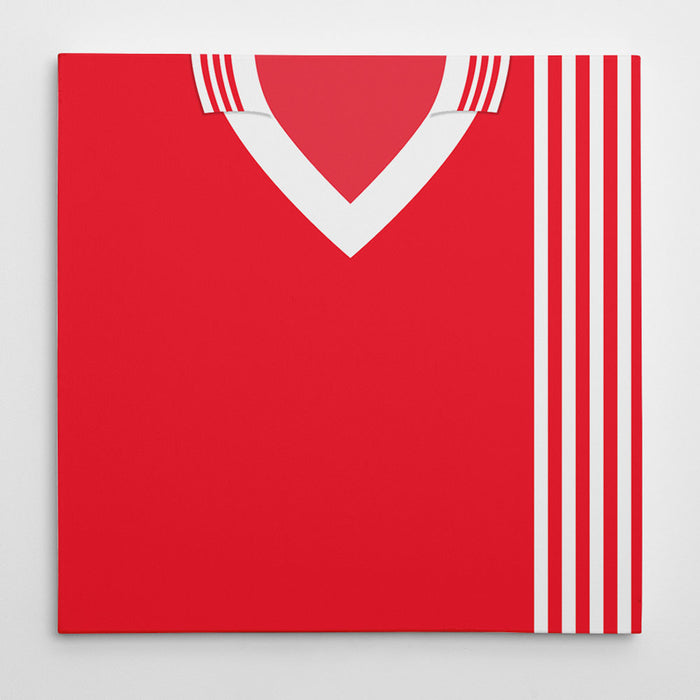 Aberdeen 1976 Football Canvas Print